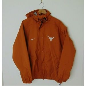 Nike M Texas Longhorns Windbreaker Rain Jacket